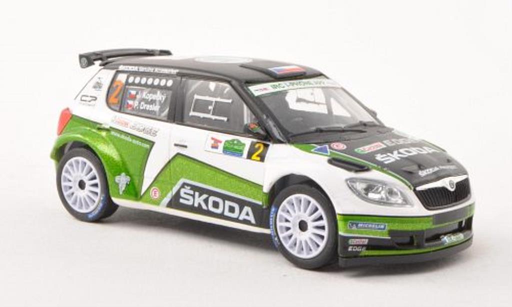 skoda fabia s2000 miniature no 2 rally irland 2012 p dresler abrex 1 43 voiture. Black Bedroom Furniture Sets. Home Design Ideas