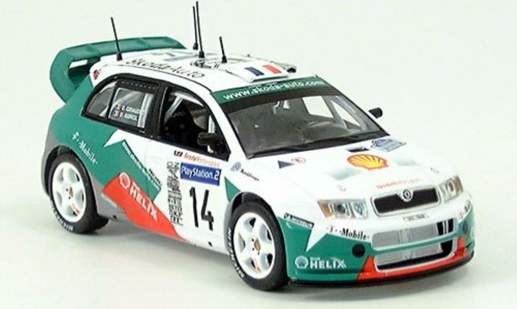 Skoda Fabia WRC 1/43 IXO TdC 2003 miniature