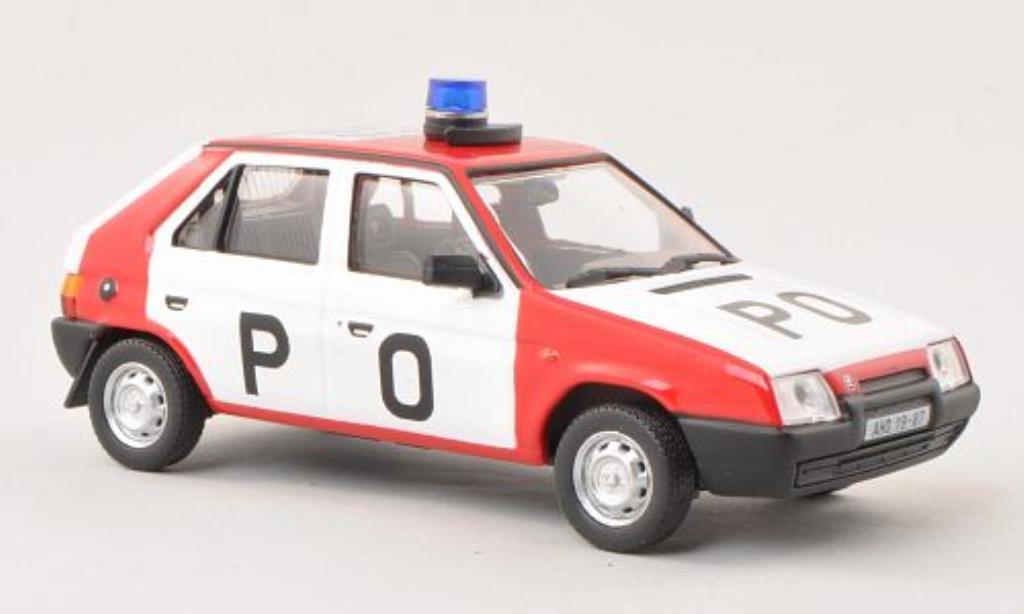 Skoda Favorit 1/43 Abrex PO (Tschecjhische Feuerwehr) 1987 miniature