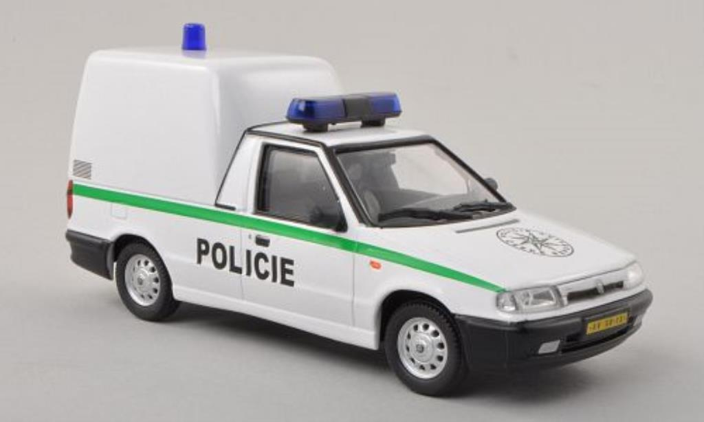 Skoda Felicia 1/43 Abrex Pickup Policie Ceske Republiky - Polizei der Tschechischen Republik miniature