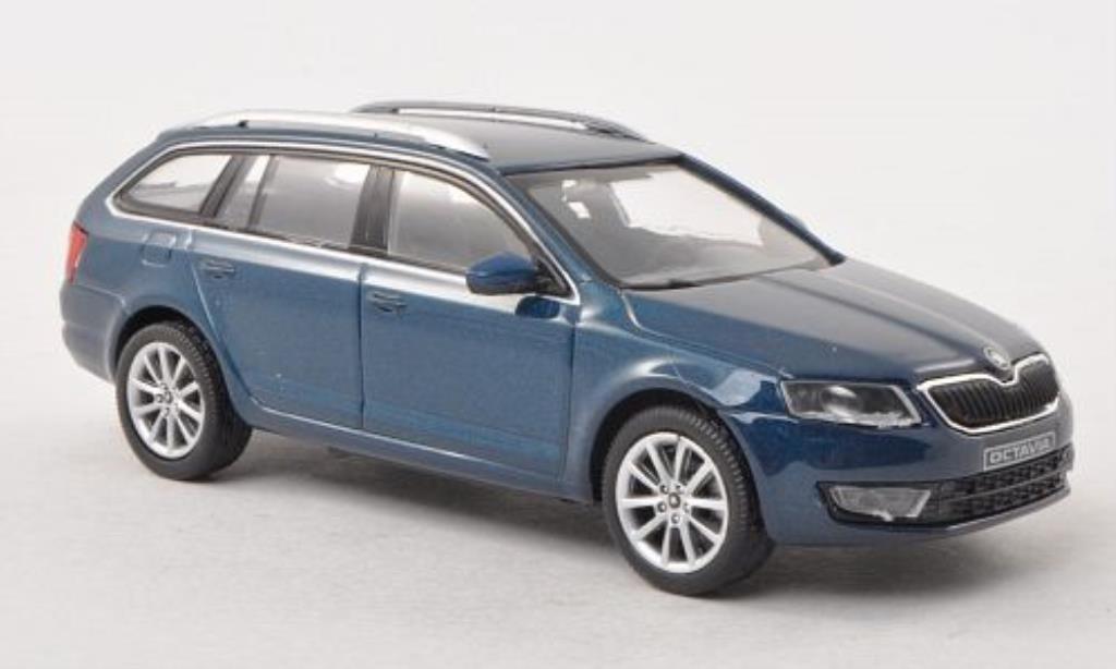 skoda octavia iii combi blue green 2013 abrex diecast model car 1 43 buy sell diecast car on. Black Bedroom Furniture Sets. Home Design Ideas