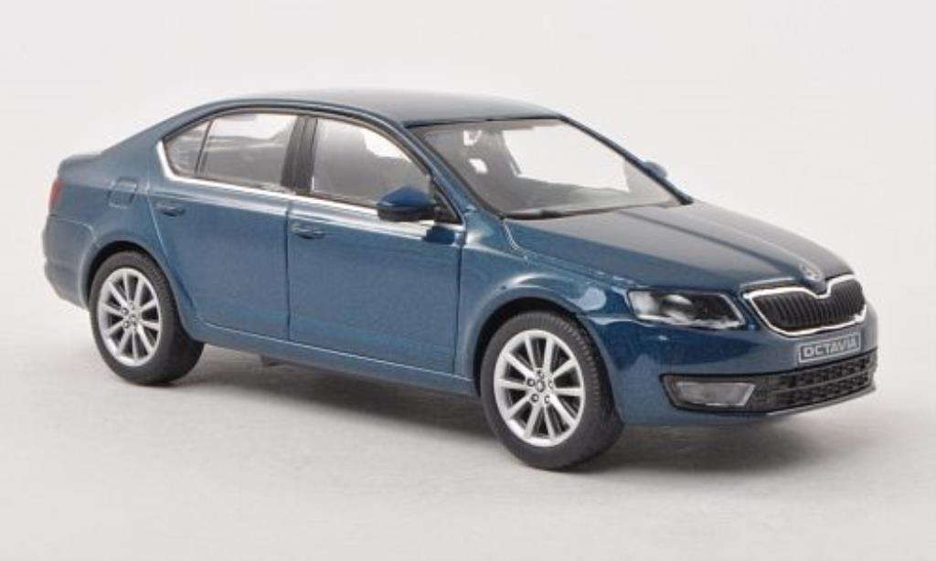 skoda octavia iii blau 2013 abrex modellauto 1 43 kaufen verkauf modellauto online. Black Bedroom Furniture Sets. Home Design Ideas