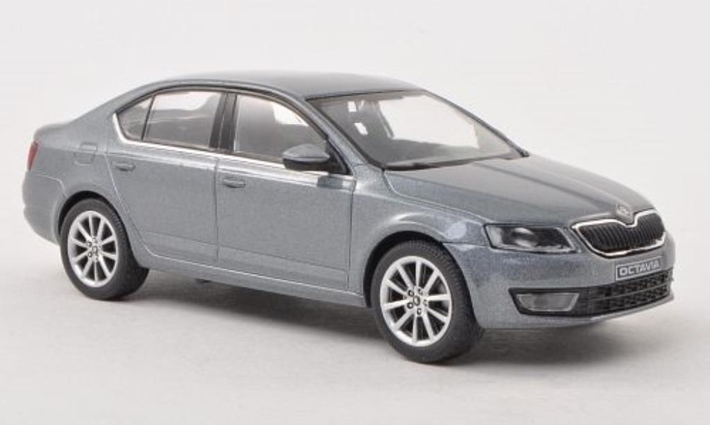 skoda octavia iii grau 2013 abrex modellauto 1 43 kaufen verkauf modellauto online. Black Bedroom Furniture Sets. Home Design Ideas