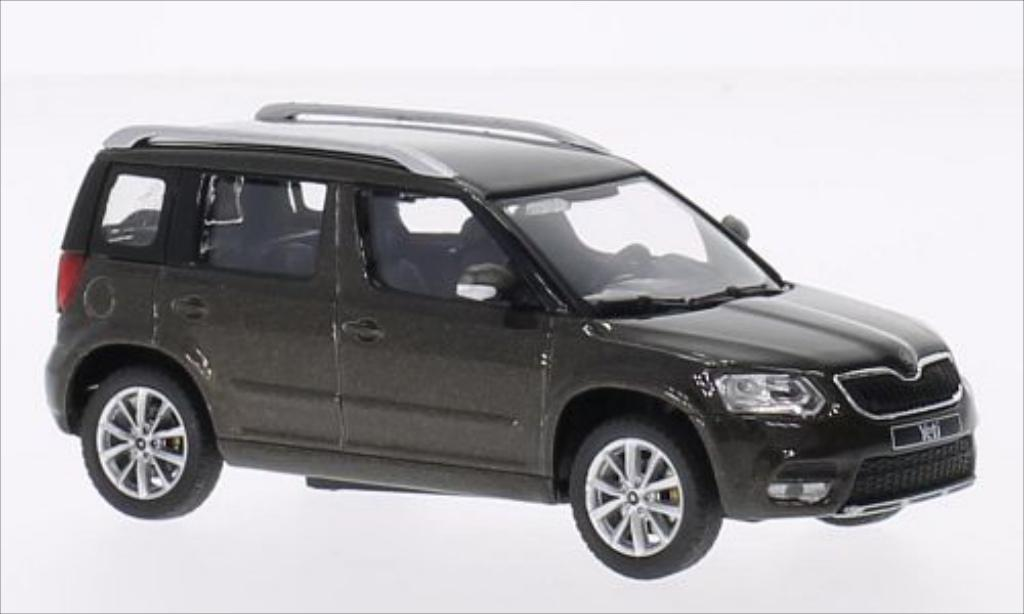 skoda yeti miniature voiture. Black Bedroom Furniture Sets. Home Design Ideas