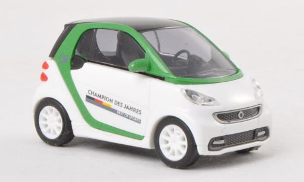 Smart Fortwo coupe 1/87 Busch Champion des Jahres - Best of Sports 2012 miniature