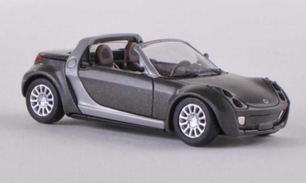 Smart Roadster 1/87 Busch Collectors Edition grise miniature