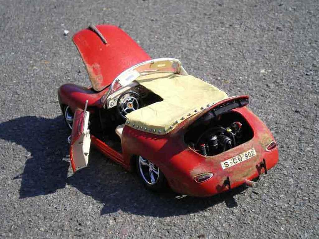 Porsche 356 1/18 Burago old school