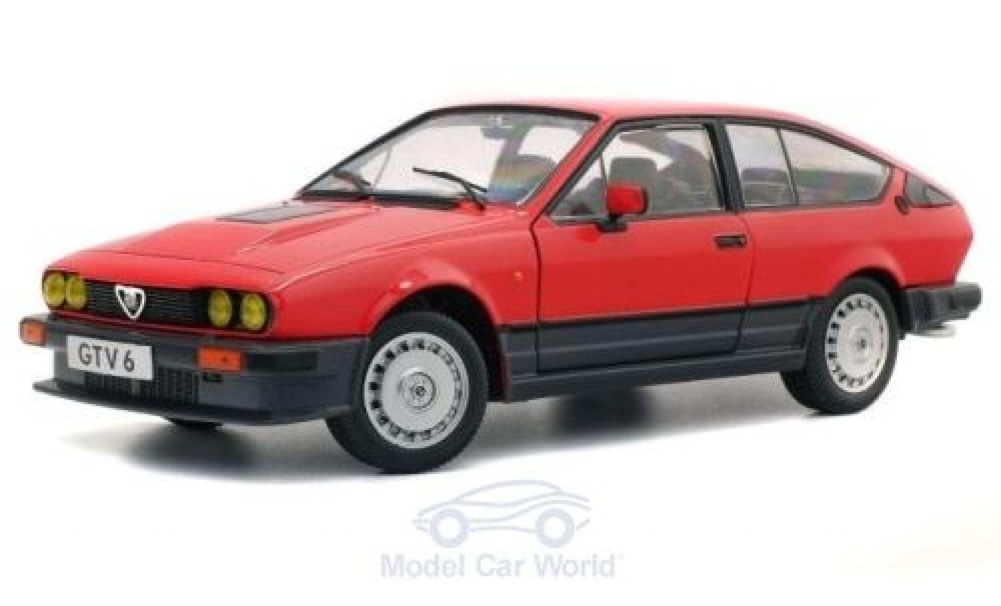 Alfa Romeo GT 1/18 Solido V6 rosso 1984