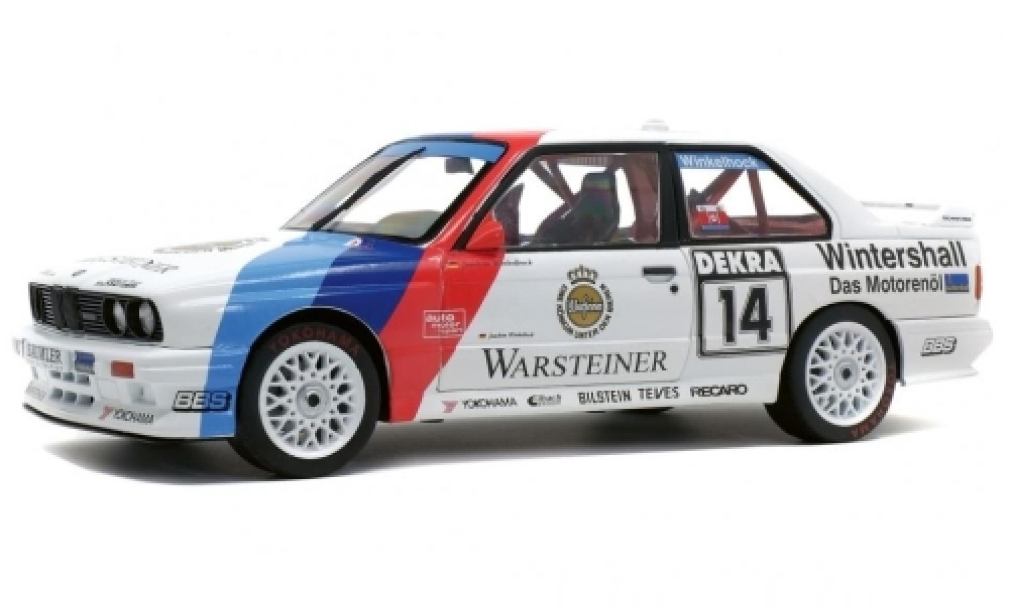 Bmw M3 1/18 Solido (E30) No.14 DTM 1992 J.Winkelhock