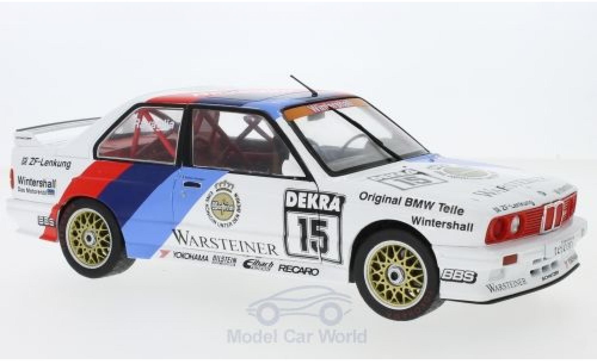 Bmw M3 E30 1/18 Solido BMW (E30) No.15 DTM 1989 R.Ravaglia