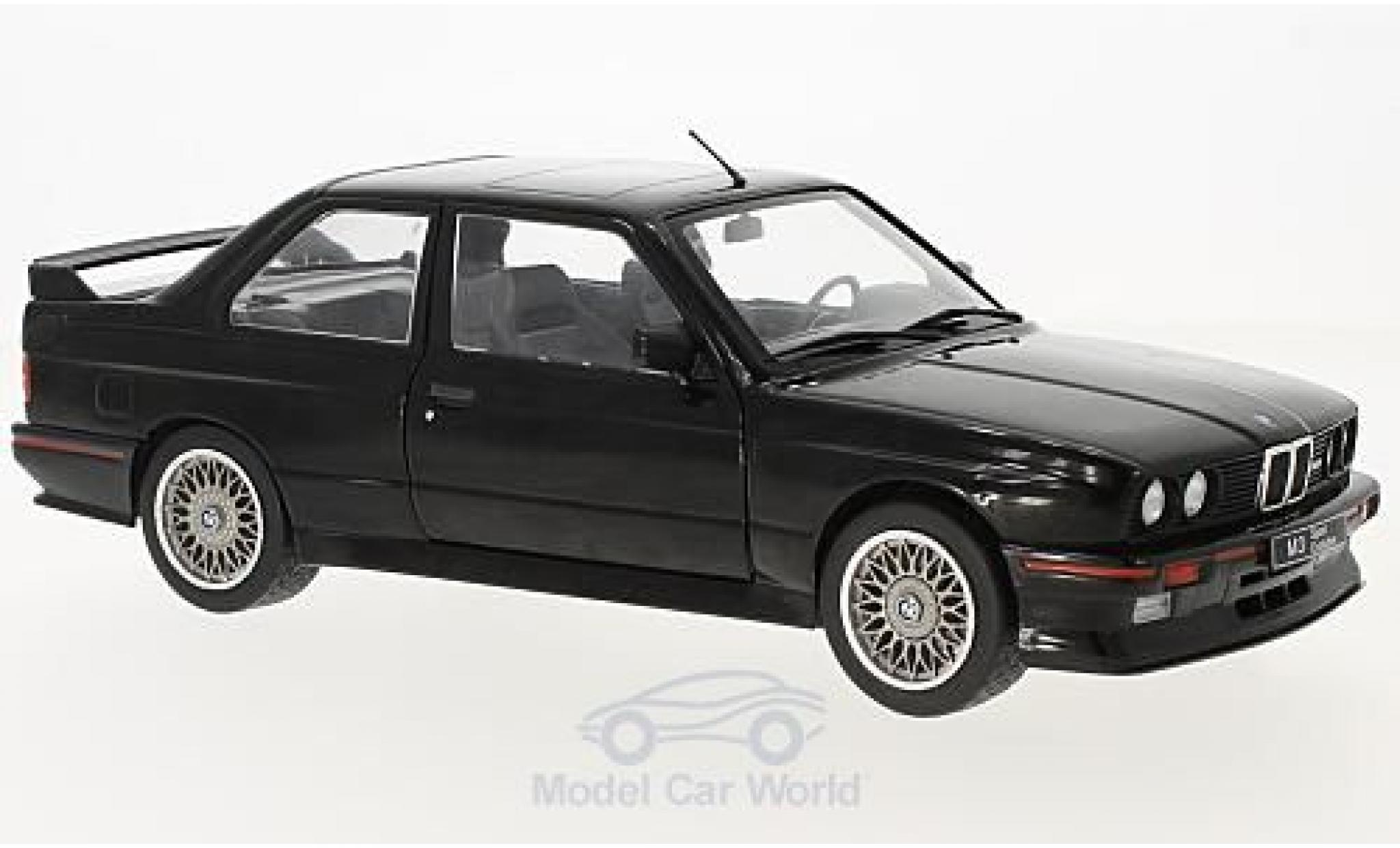Bmw M3 1/18 Solido (E30) Sport Evo black 1990