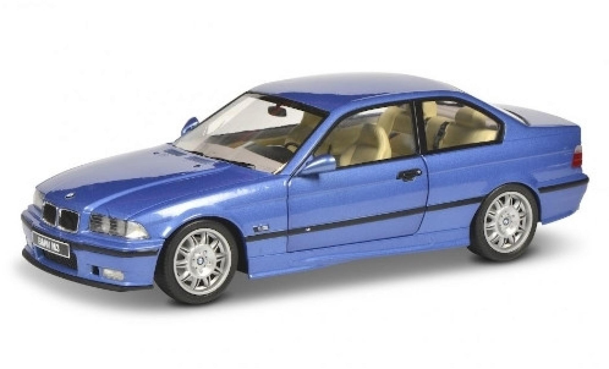 Bmw M3 1/18 Solido (E36) metallise bleue