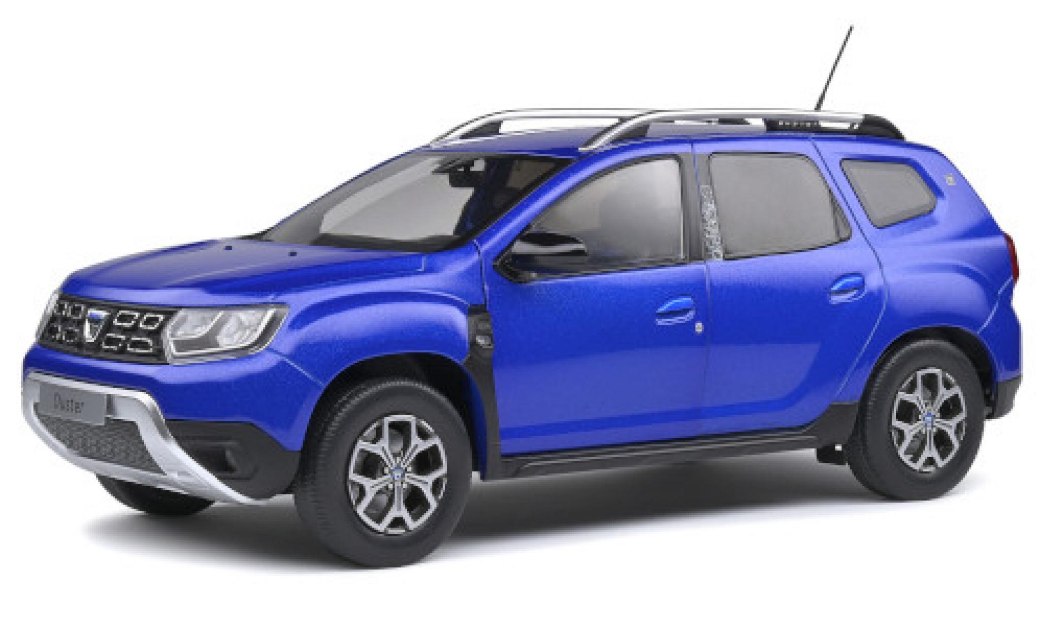 Dacia Duster 1/18 Solido MKII metallise blue 2018