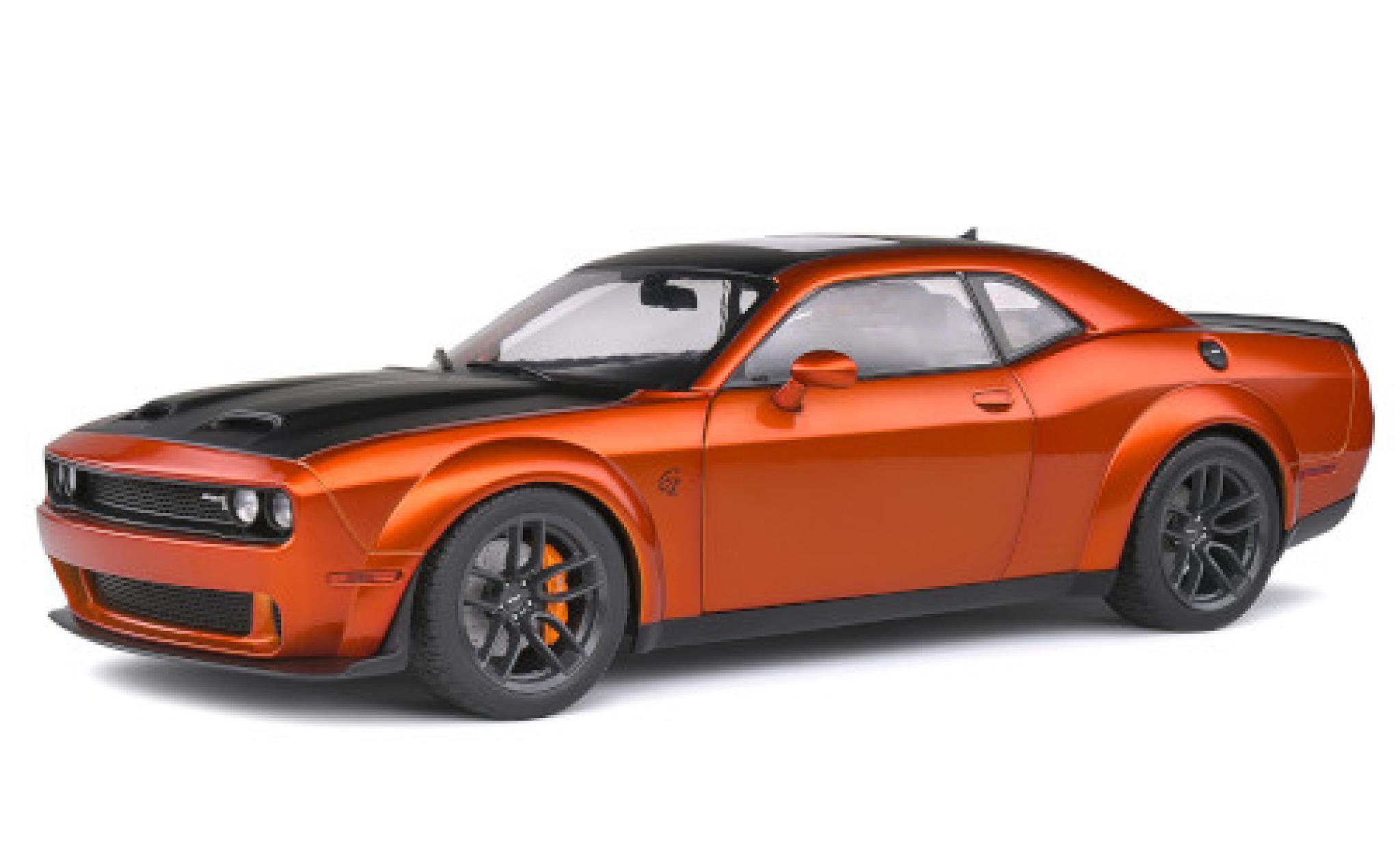 Dodge Challenger 1/18 Solido SRT Hellcat Redeye kupfer/matt-noire 2020