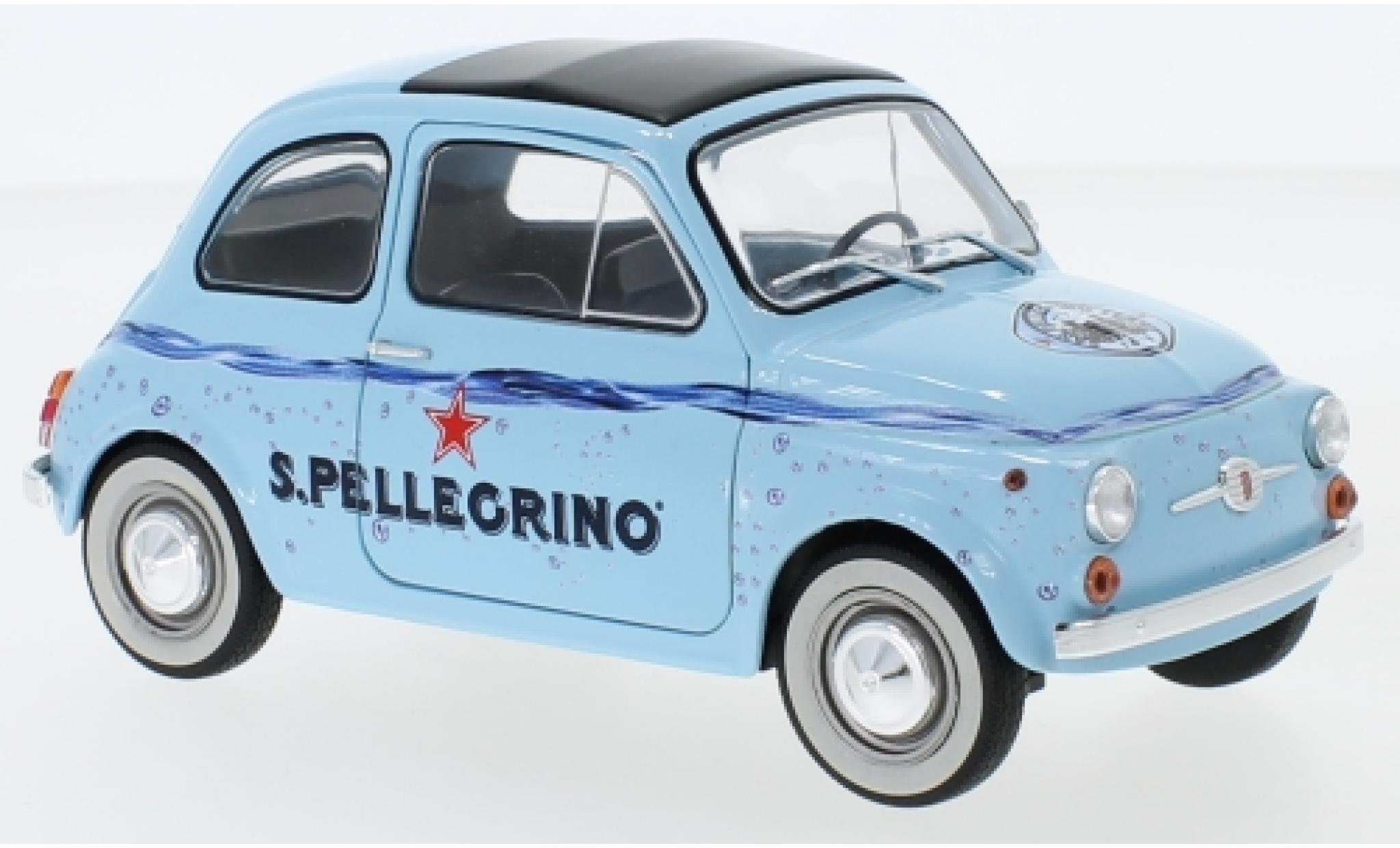 Fiat 500 1/18 Solido F San Pellegrino