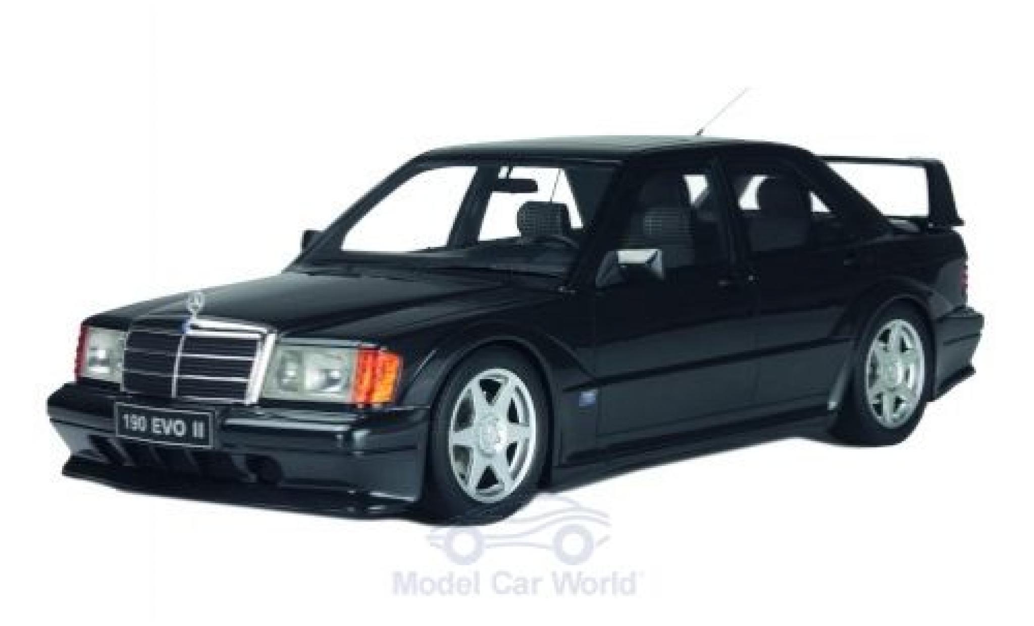 Mercedes 190 1/18 Solido E 2.5-16 Evolution II noire 1990