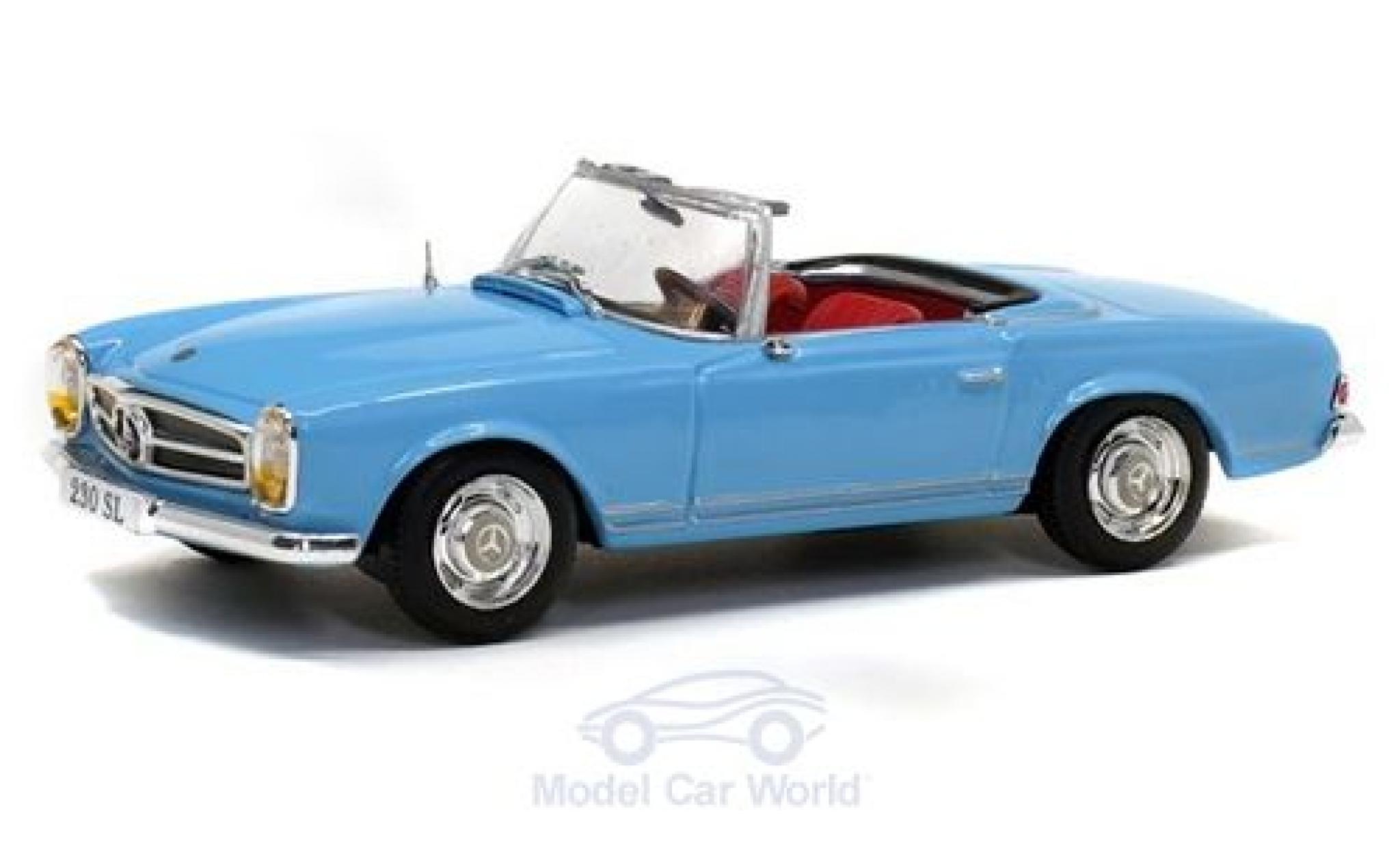 Mercedes 230 1/43 Solido SL (W113) bleue 1963