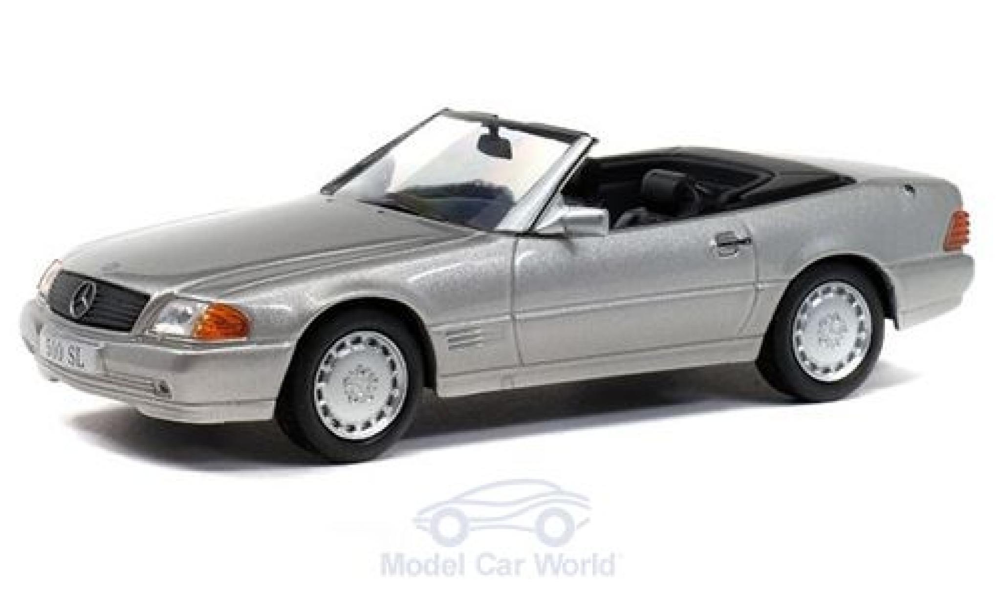 Mercedes 500 1/43 Solido SL (R109) silber 1989