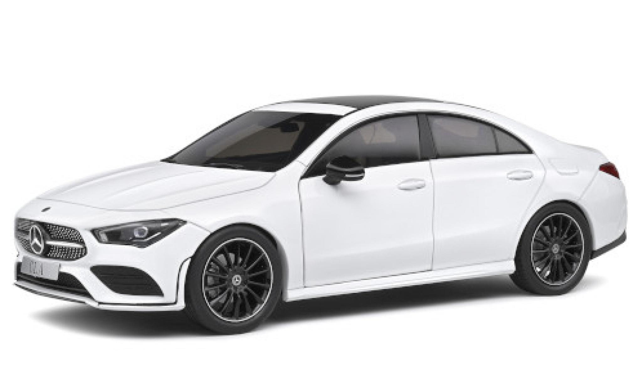 Mercedes CLA 1/18 Solido Coupe AMG Line (C118) blanche 2019