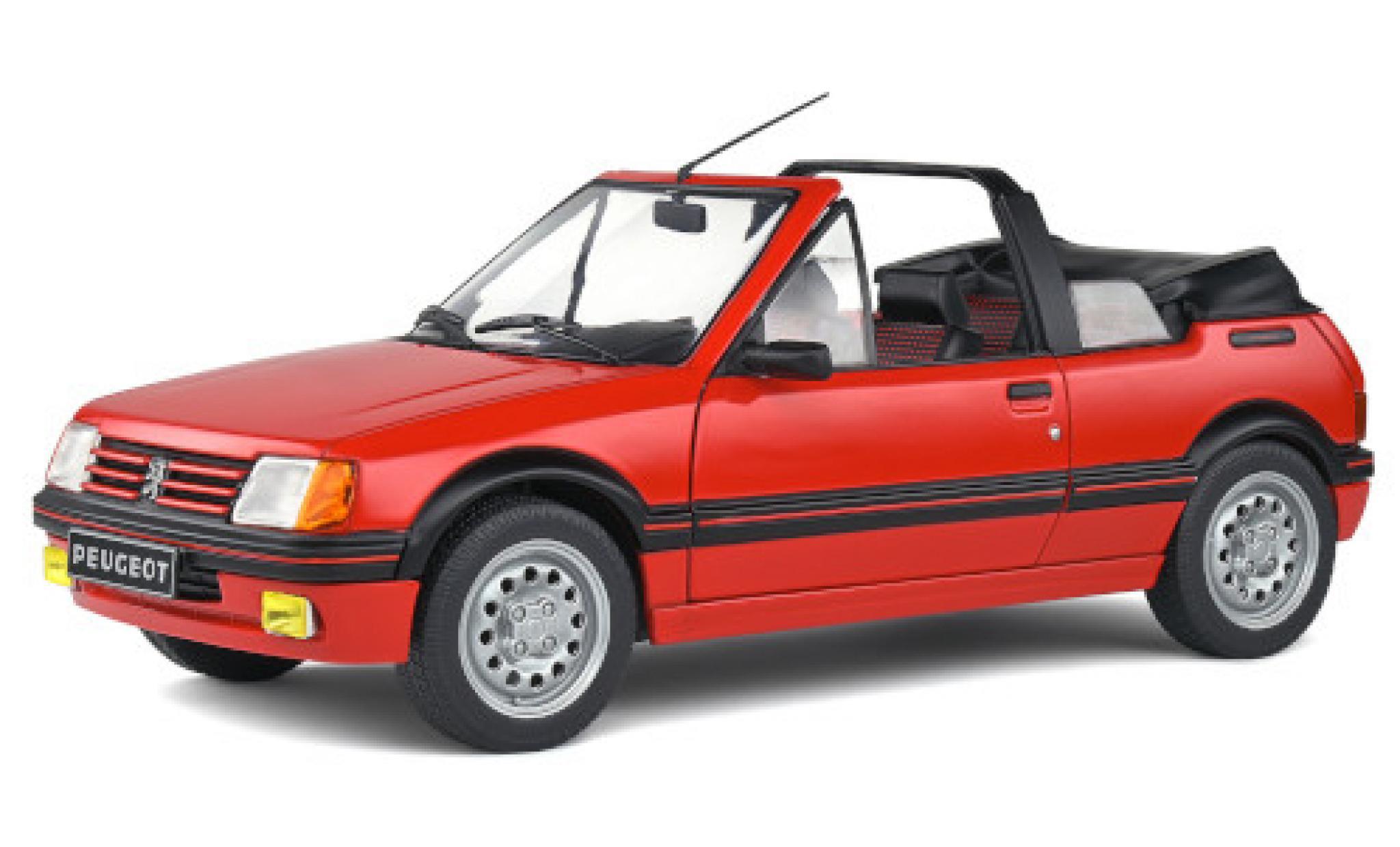 Peugeot 205 1/18 Solido CTI rouge 1986