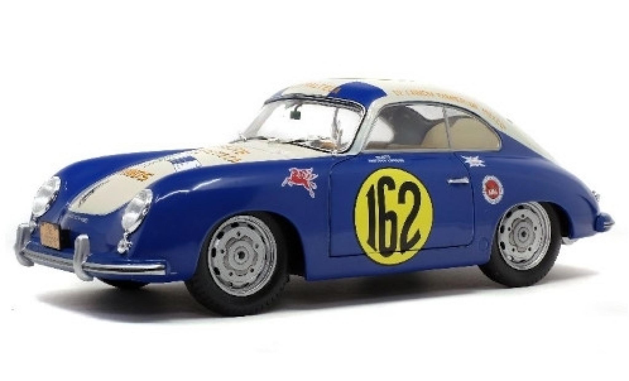Porsche 356 1/18 Solido No.162 Carrera Panamericana 1953 M.Lippmann