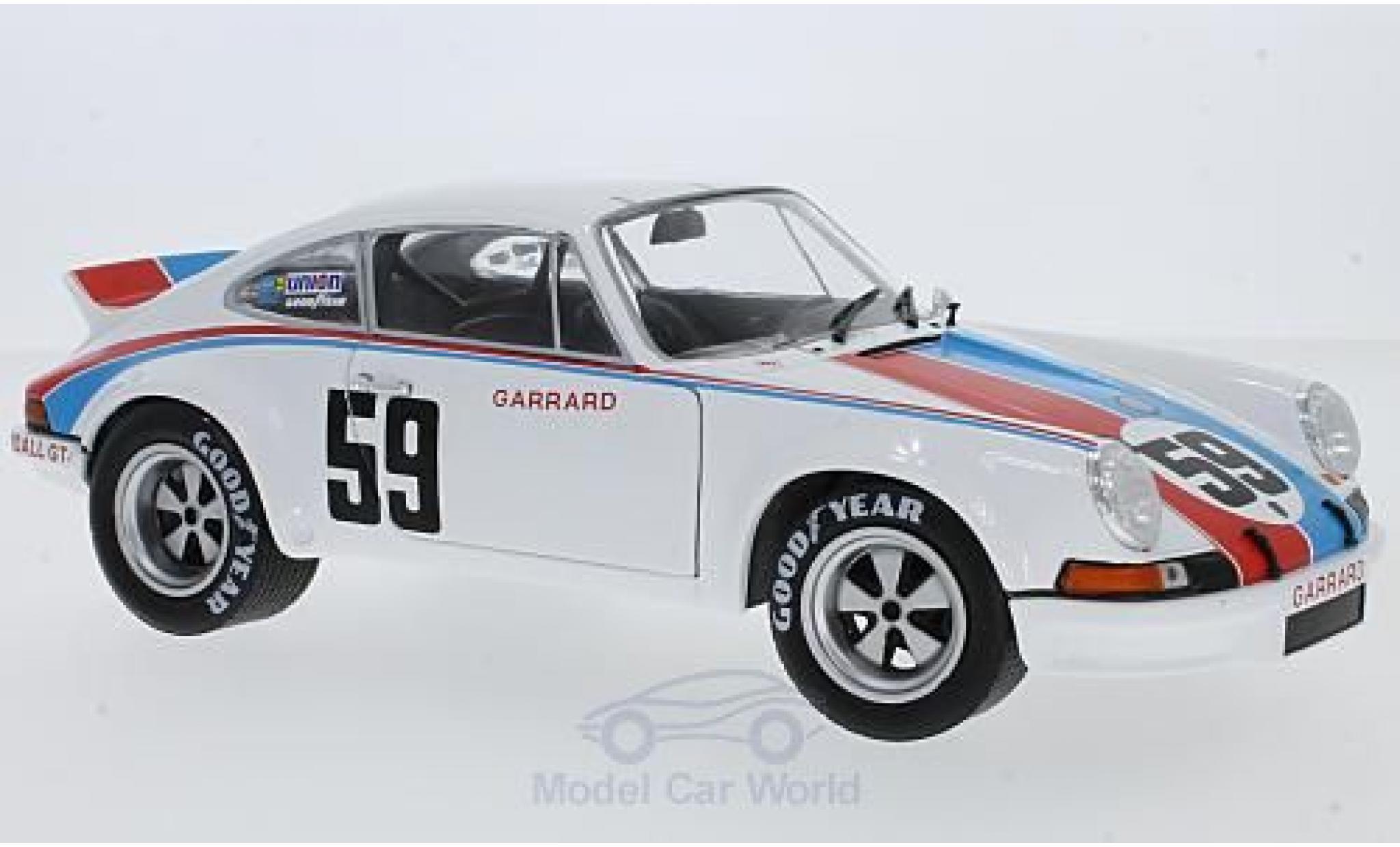Porsche 911 SC 1/18 Solido RSR No.59 Brumos 24h Daytona 1973 P.Gregg/H.Haywood