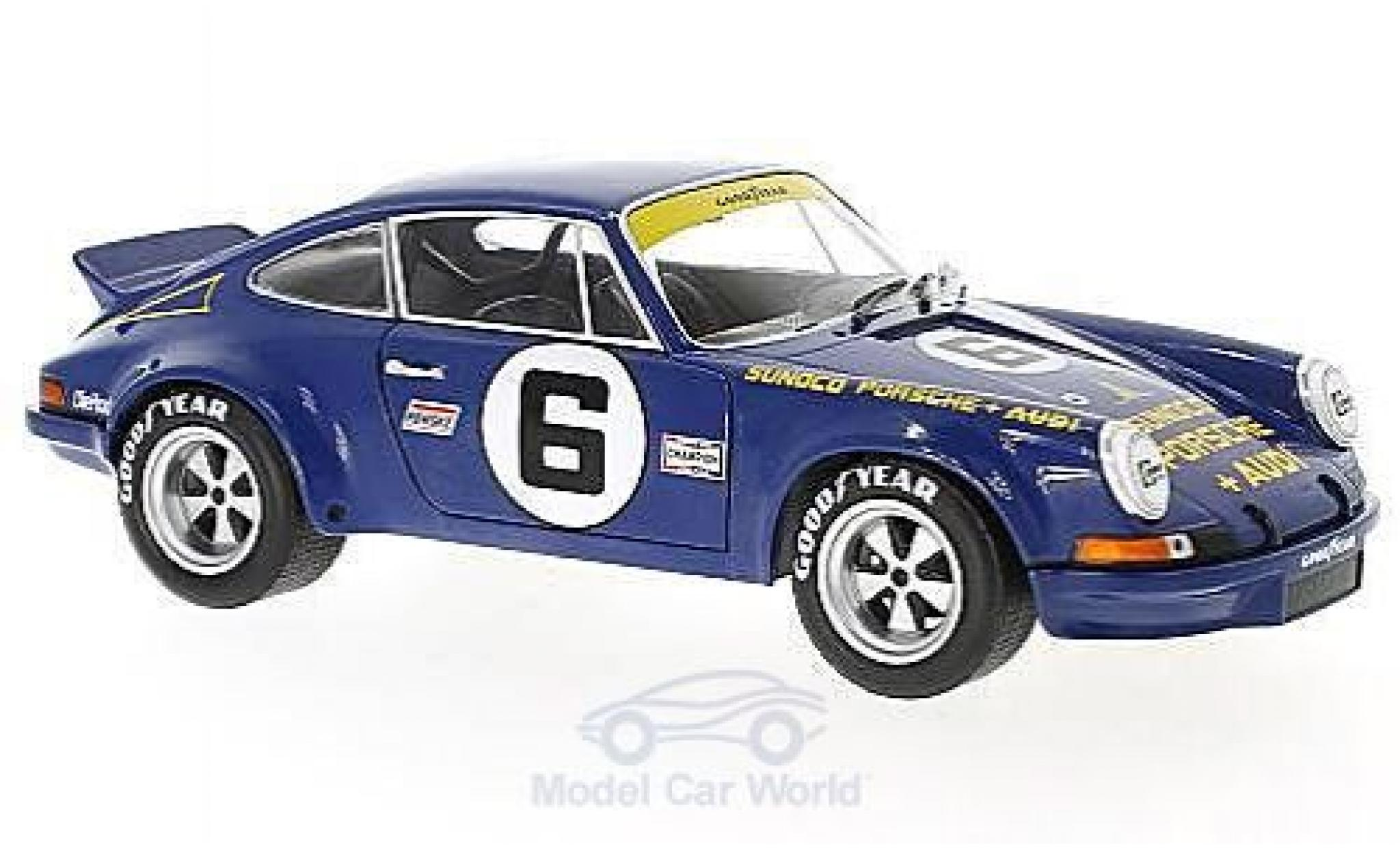 Porsche 911 SC 1/18 Solido RSR No.6 Penske Racing Sunoco 24h Daytona 1973 M.Donohue/G.Follmer