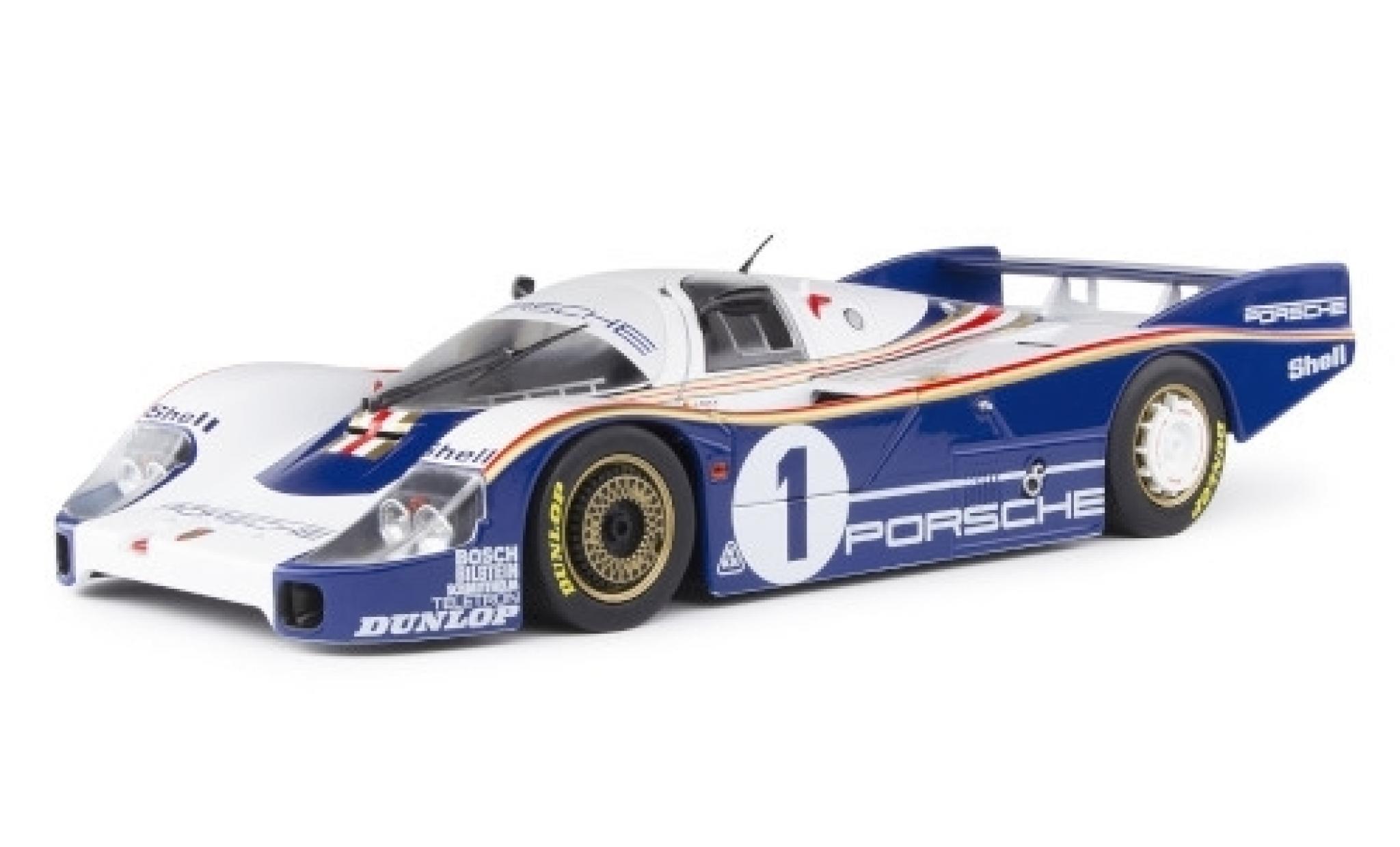 Porsche 956 1982 1/18 Solido LH RHD No.1 Rothmans System Rothmans 24h Le Mans y compris les Decals D.Bell/J.Ickx