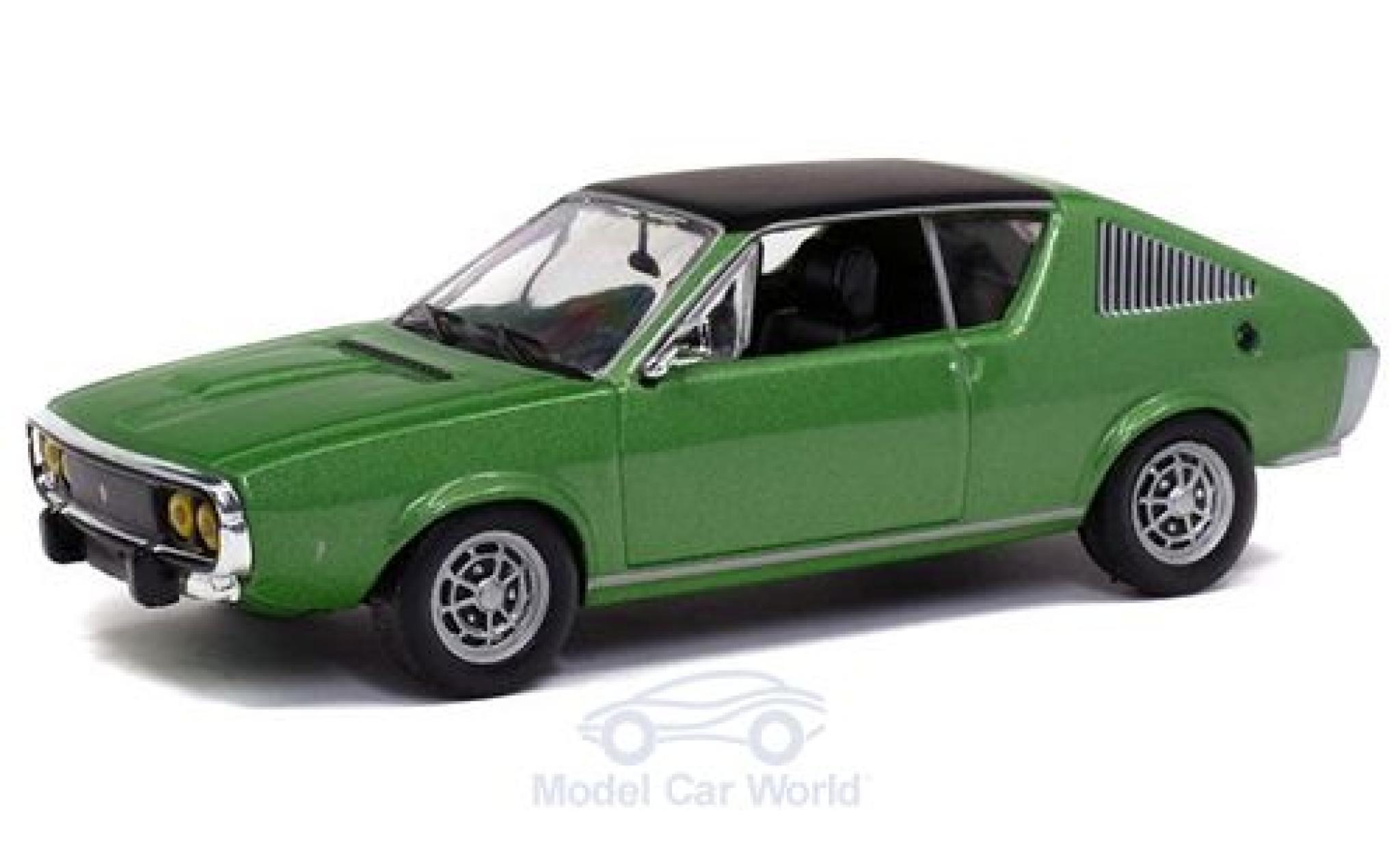 Renault 17 1/43 Solido métallisé verte 1974