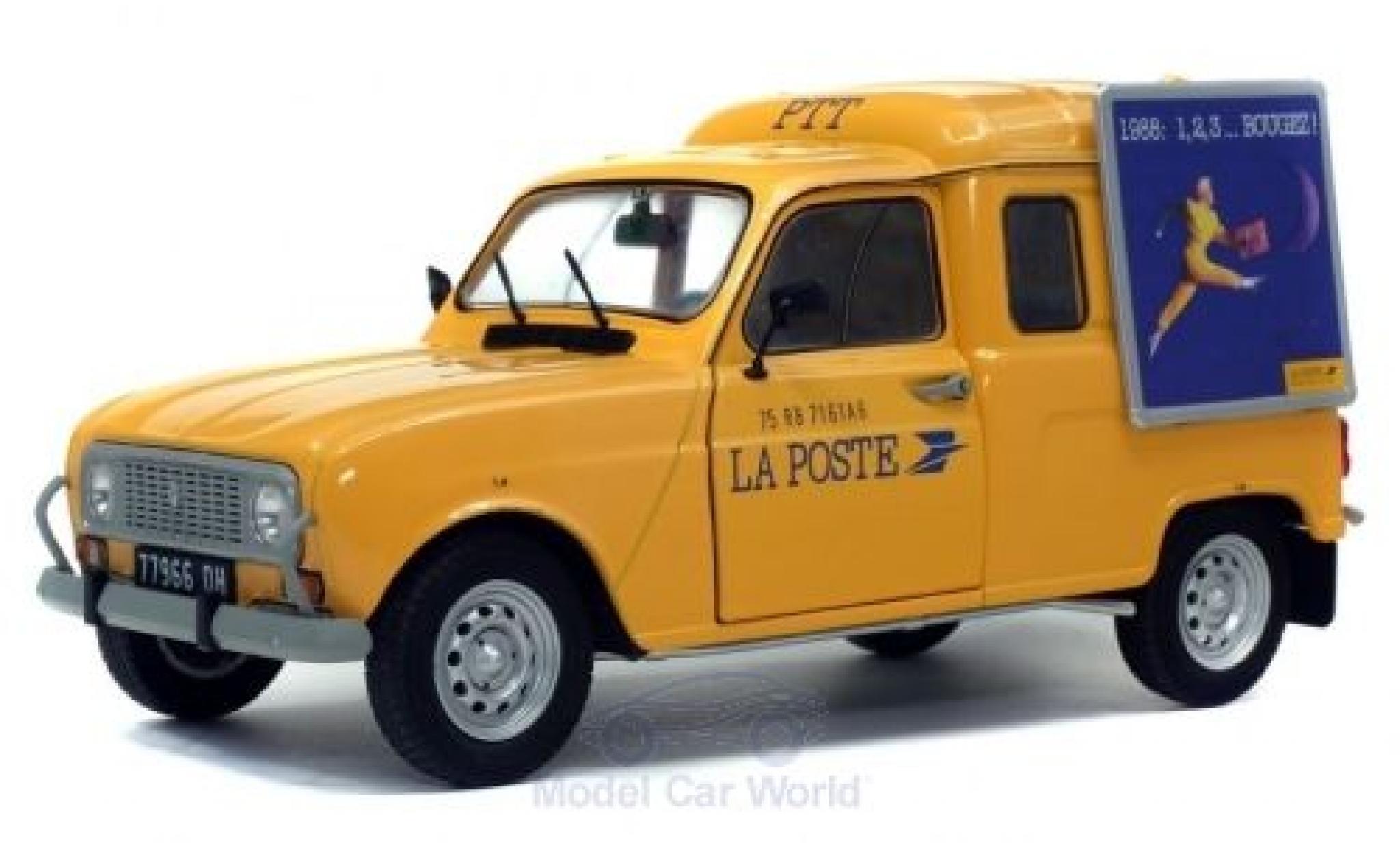 Renault 4 1/18 Solido LF La Poste (F) 1988