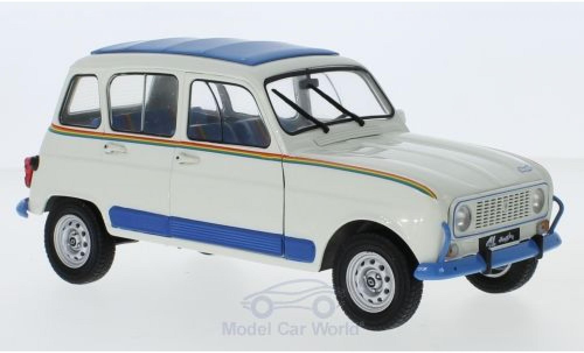 Renault 4 1/18 Solido Jogging hellbeige/bleue