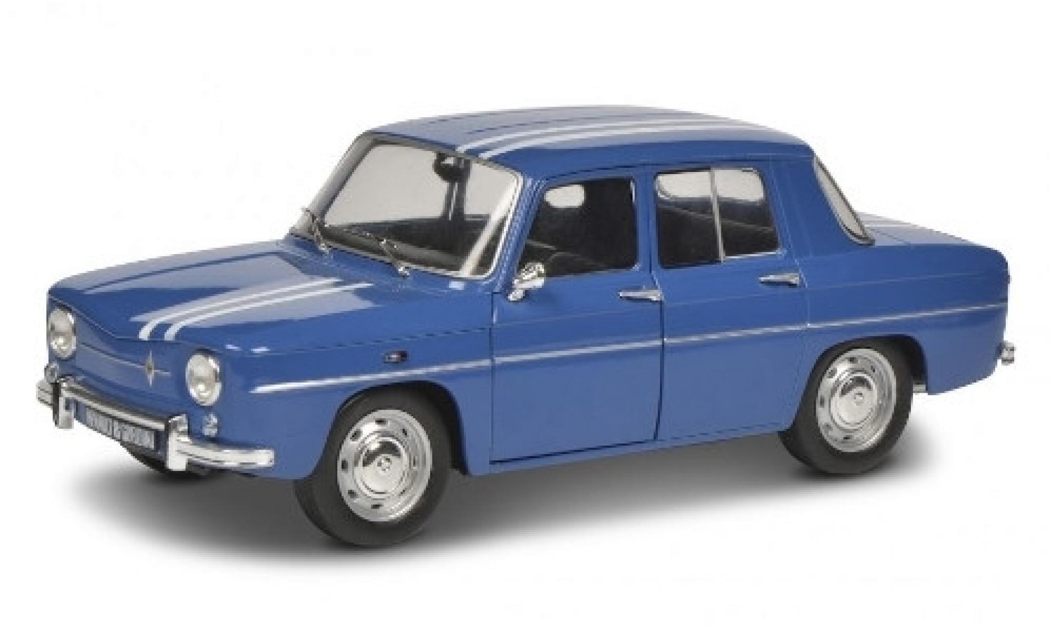 Renault 8 1/18 Solido Gordini 1100 bleue/blanche 1967