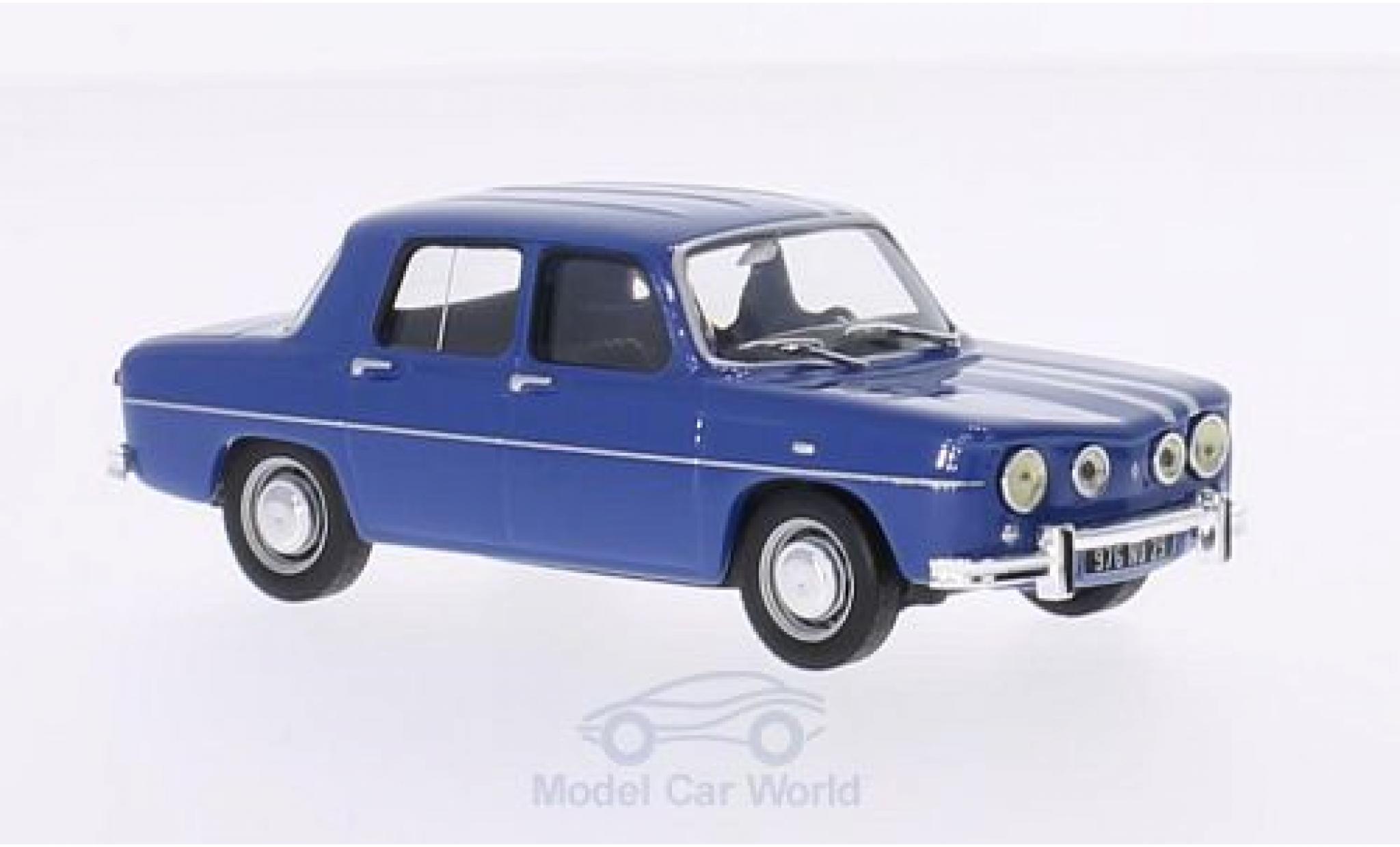 Renault 8 1/43 Solido Gordini 1300 bleue/blanche 1969