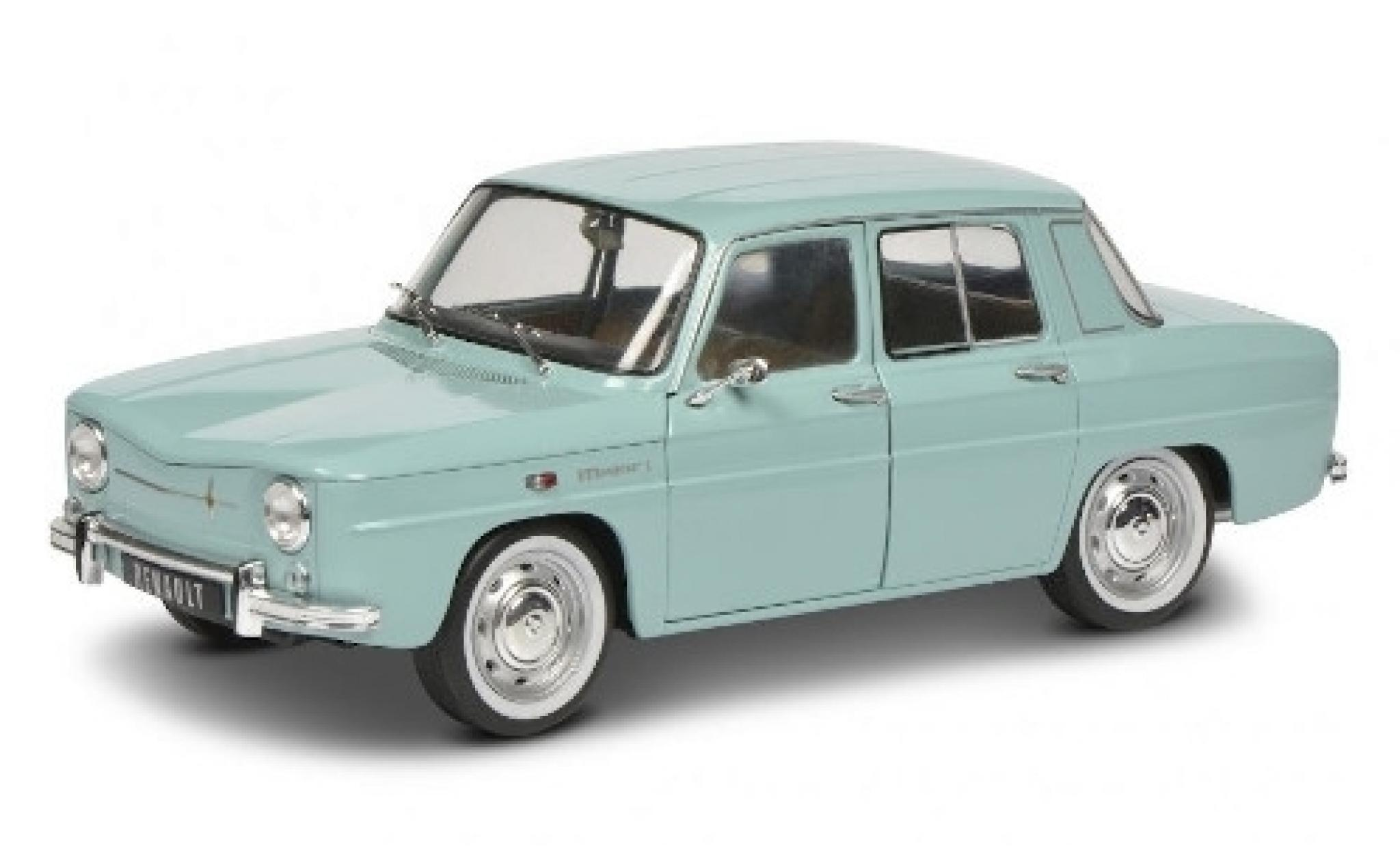 Renault 8 1/18 Solido Major blue