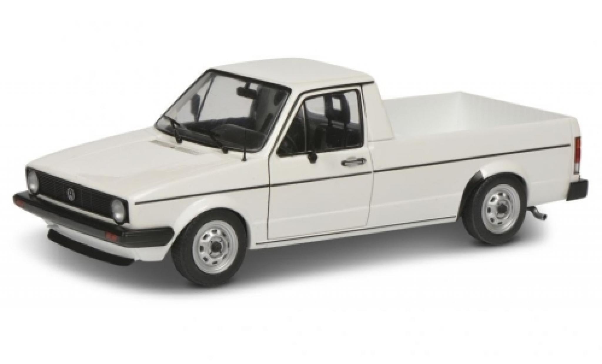Volkswagen Caddy 1/18 Solido MK I white 1982