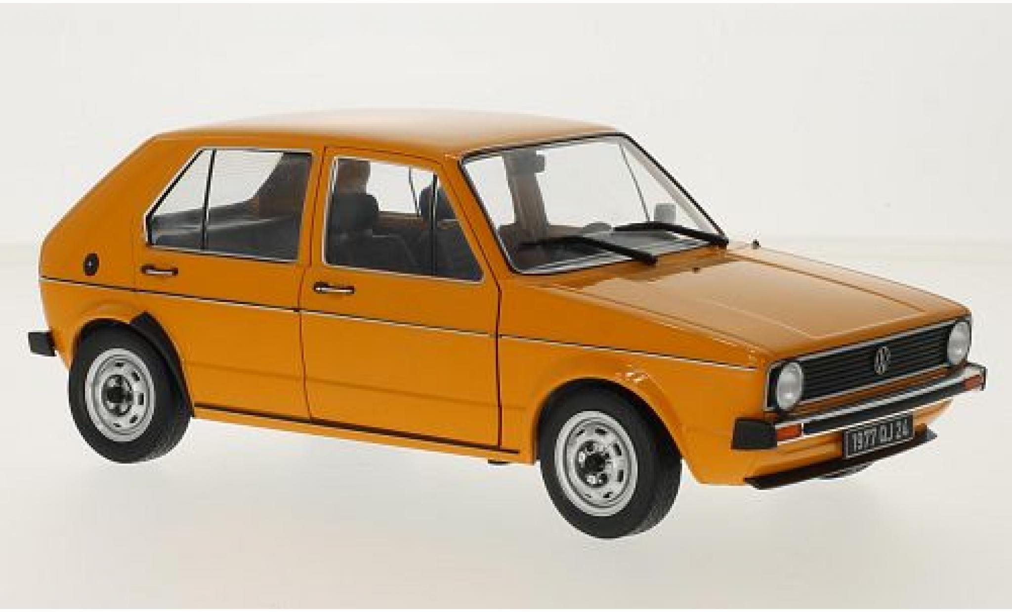 Volkswagen Golf 1/18 Solido 1 orange 1974