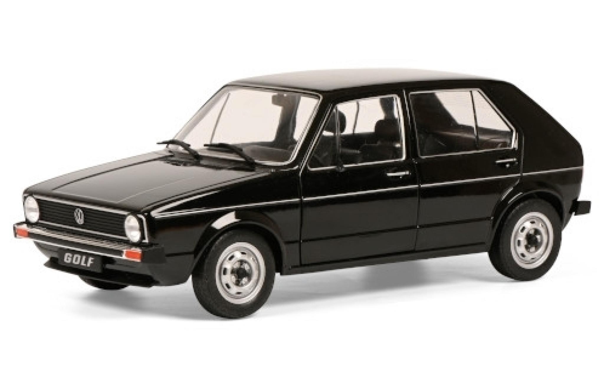 Volkswagen Golf 1/18 Solido I L black 1983