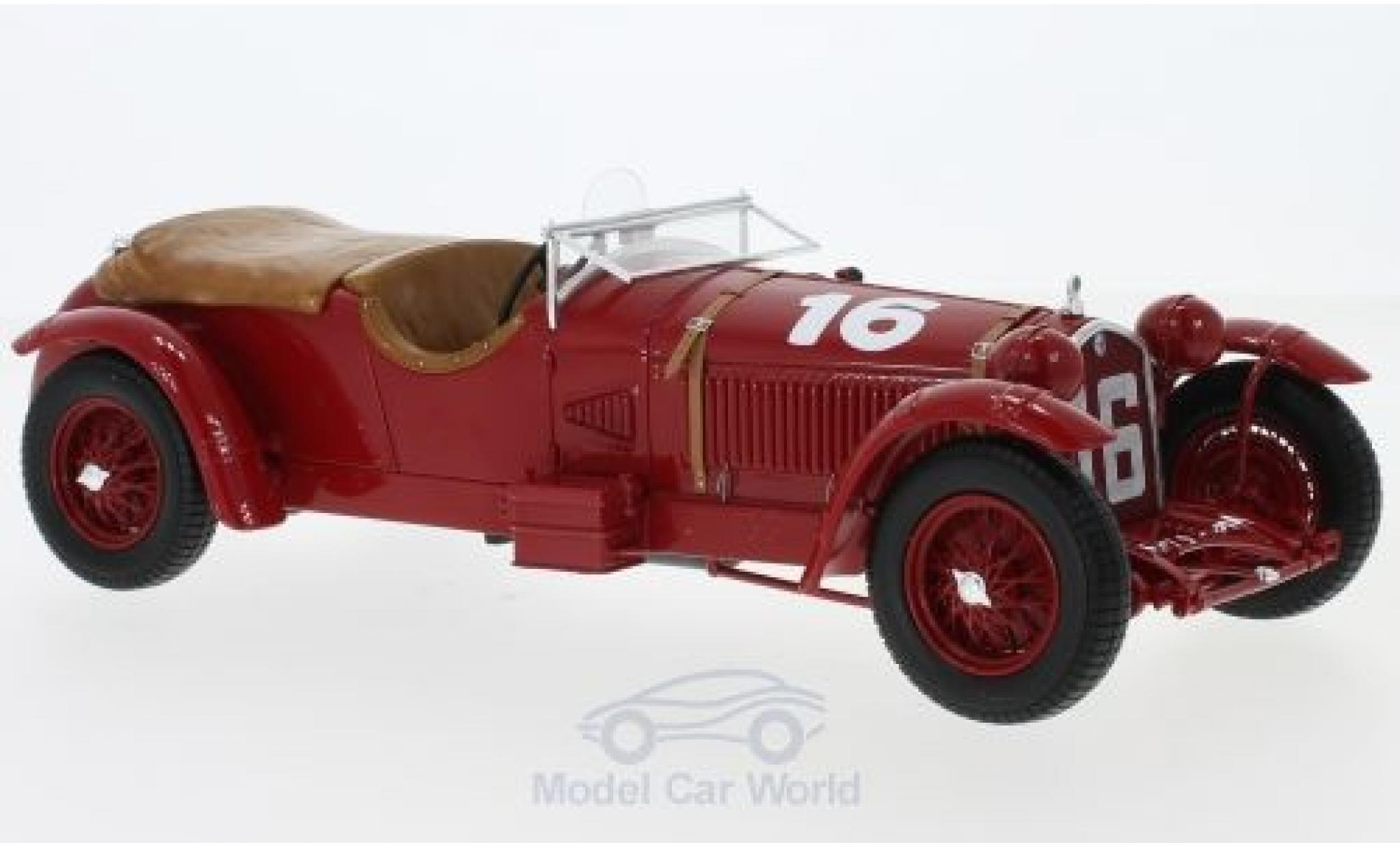 Alfa Romeo 8C 1/18 Spark No.16 24h Le Mans 1931 L.Howe/H.Birkin