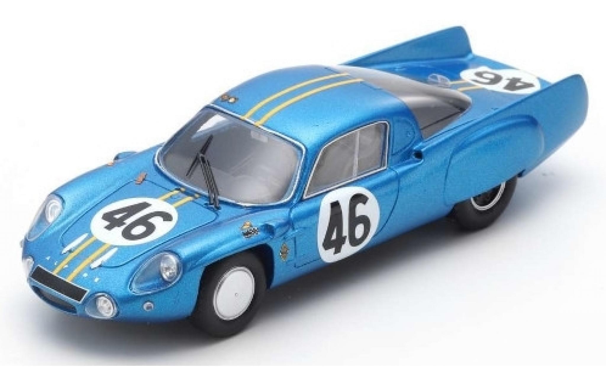 Alpine A210 1/43 Spark No.46 24h Le Mans 1966 M.Bianchi/J.Vinatier