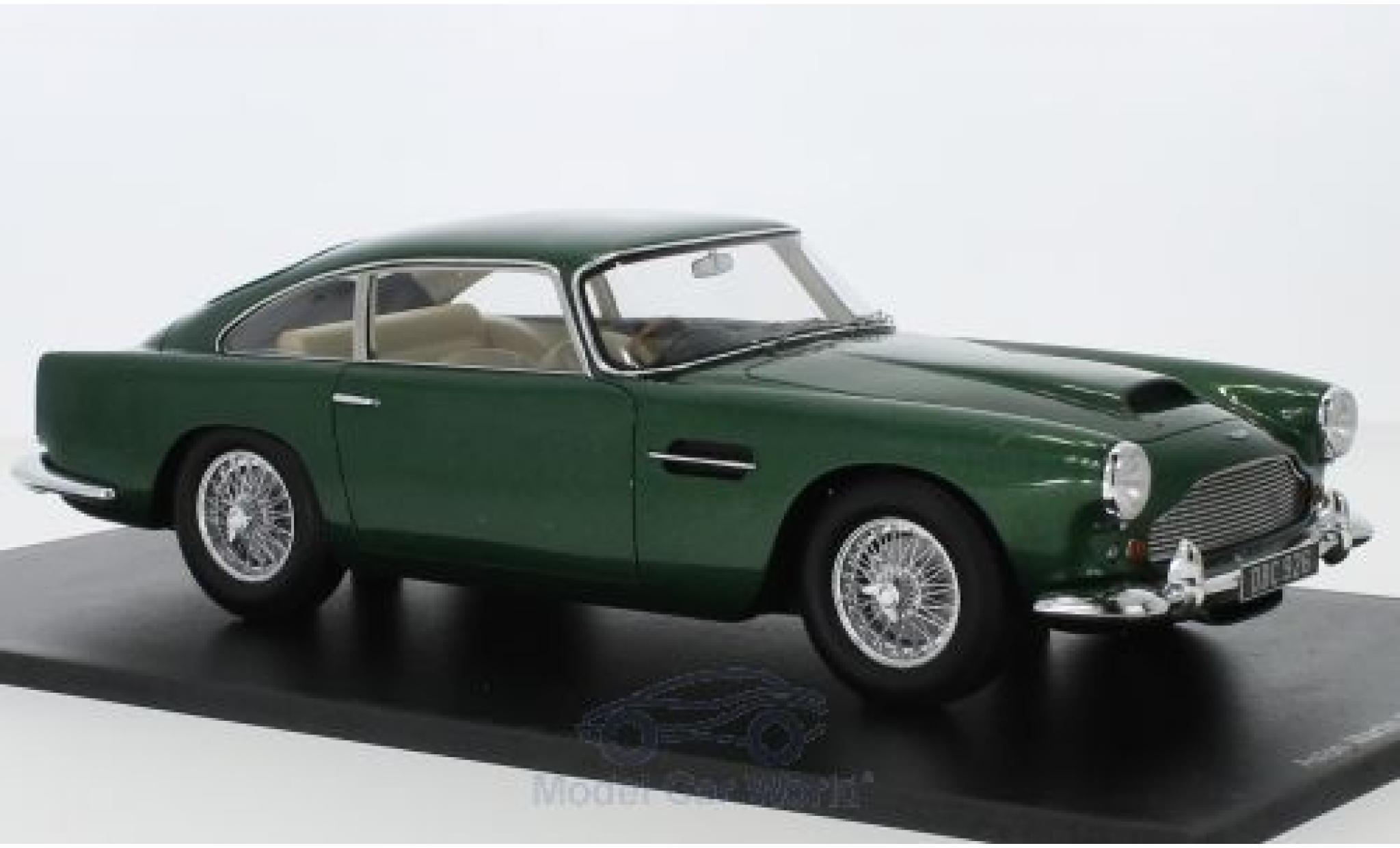 Aston Martin DB4 1/18 Spark Series II metallico verde RHD 1960