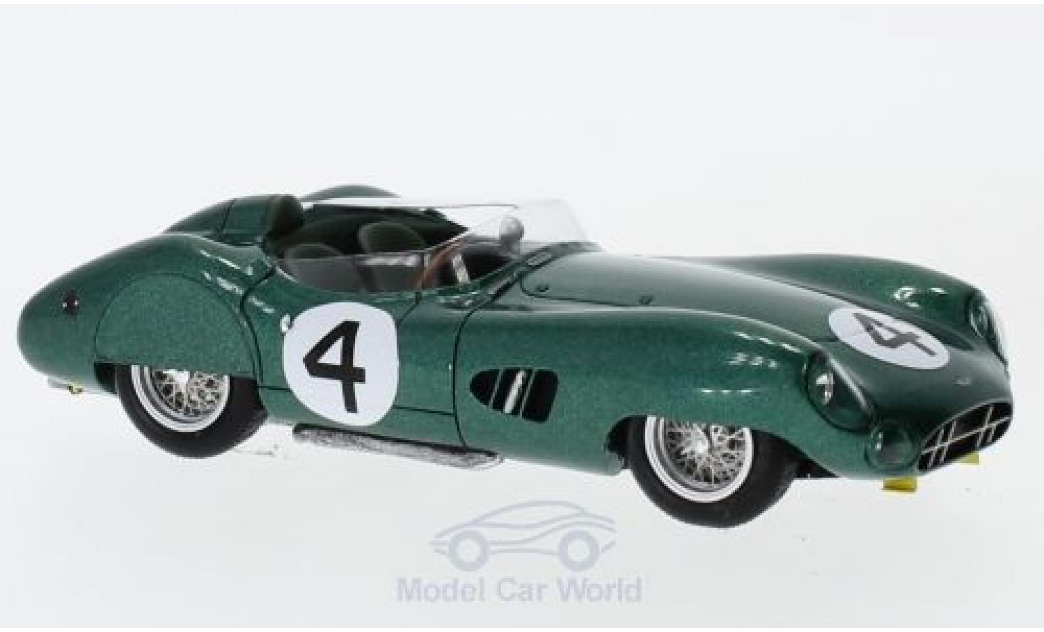 Aston Martin DBR1 1/43 Spark RHD No.4 24h Le Mans 1959 S.Moss/J.Fairman