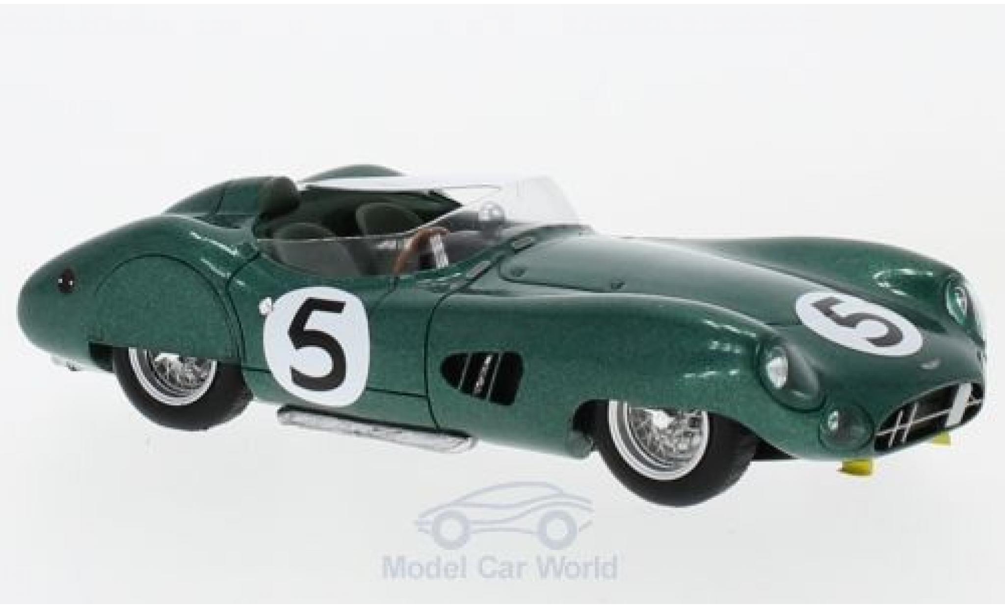 Aston Martin DBR1 1/43 Spark RHD No.5 24h Le Mans 1959 R.Salvadori/C.Shelby