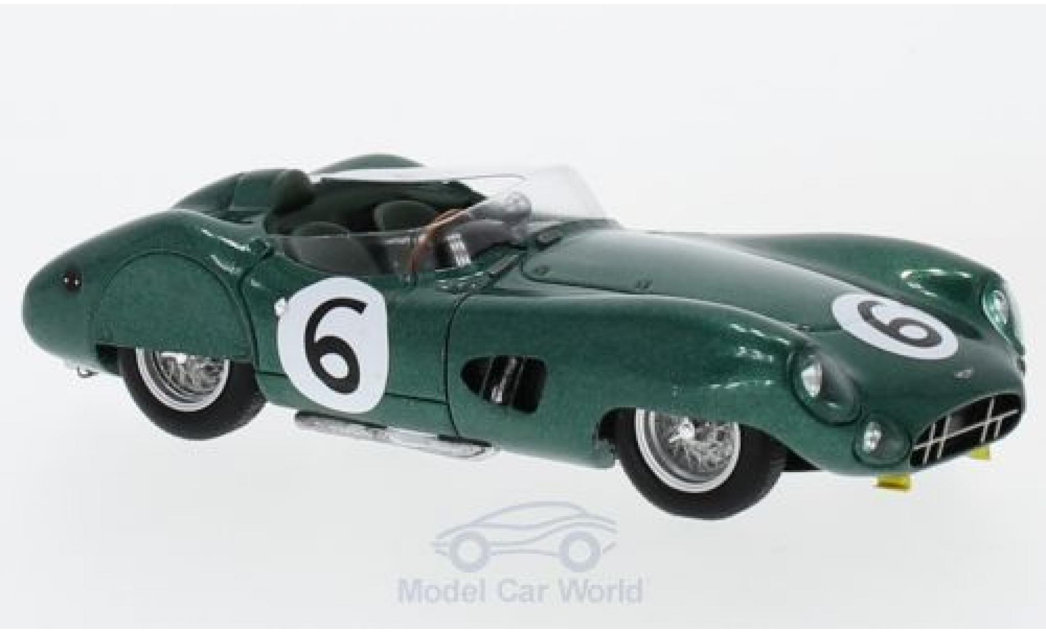 Aston Martin DBR1 1/43 Spark RHD No.6 24h Le Mans 1959 M.Trintignant/P.Frere