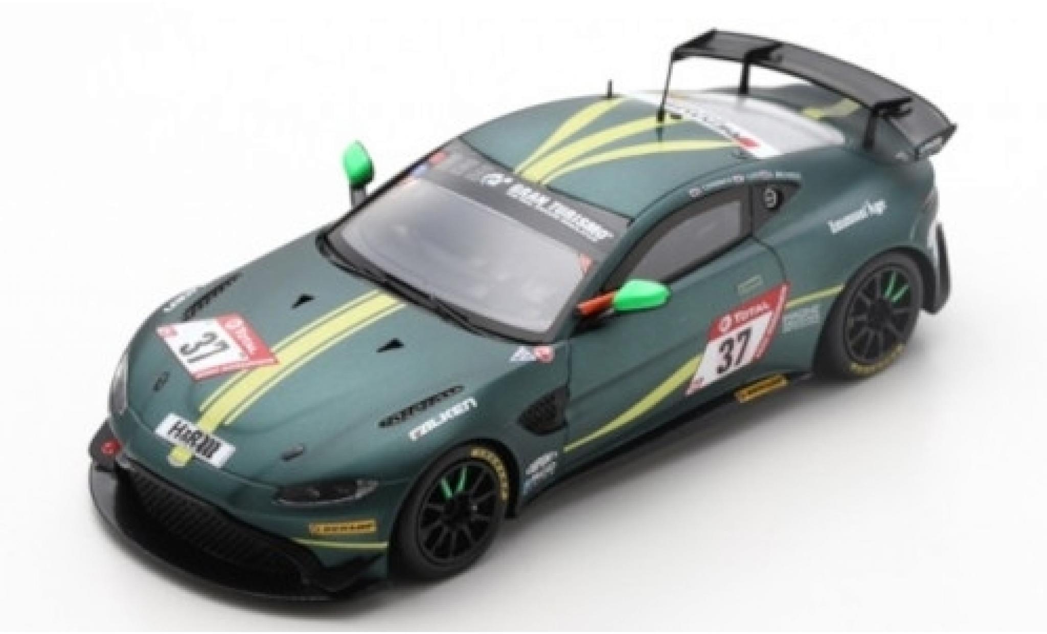 Aston Martin Vantage 1/43 Spark AMR GT4 No.37 AMR Performance Center 24h Nürburgring 2019 J.Chadwick/P.Cate/A.Brundle