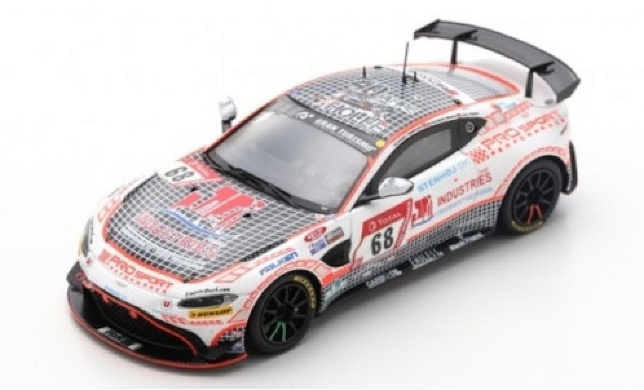 Aston Martin Vantage 1/43 Spark AMR GT4 No.68 Prosport-Performance GmbH 24h Nürburgring 2019 V.Jörg/N.Moller-Madsen/J.Lappalainen
