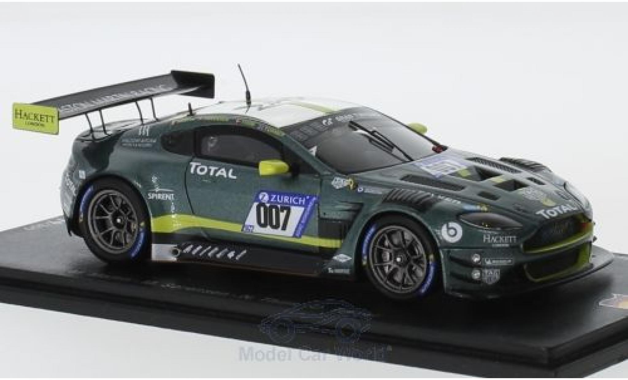 Aston Martin Vantage 1/43 Spark GT3 No.007 Racing 24h Nürburgring 2018 M.Martin/R.Sorenson/N.Thiim/D.Turner