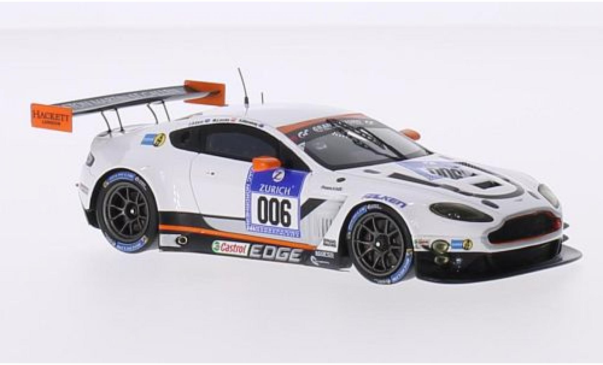 Aston Martin Vantage 1/43 Spark GT3 No.6 Racing 24h Nürburgring 2015 J.Adam/R.Stanaway/M.Lauda/S.Mücke