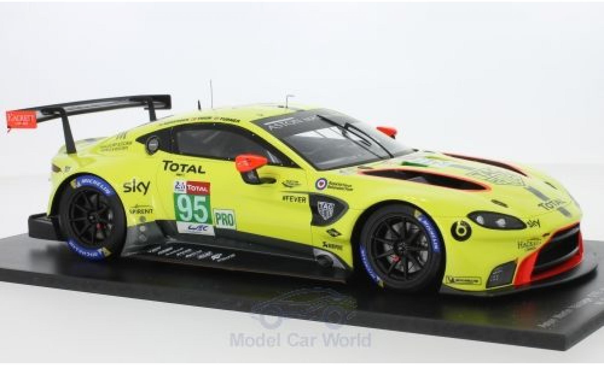 Aston Martin Vantage 1/18 Spark GTE No.95 Racing 24h Le Mans 2018 M.Sorensen/N.Thiim/D.Turner