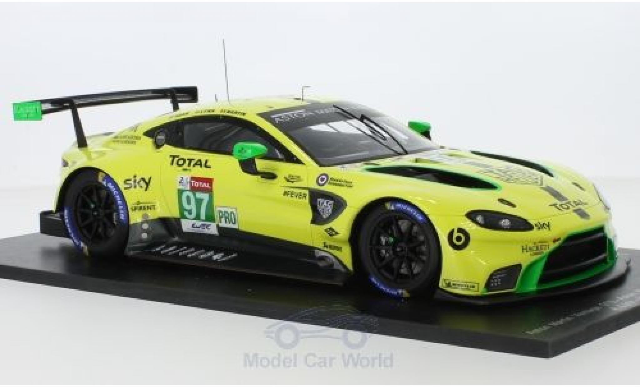 Aston Martin Vantage 1/18 Spark GTE No.97 Racing 24h Le Mans 2018 A.Lynn/M.Martin/J.Adam