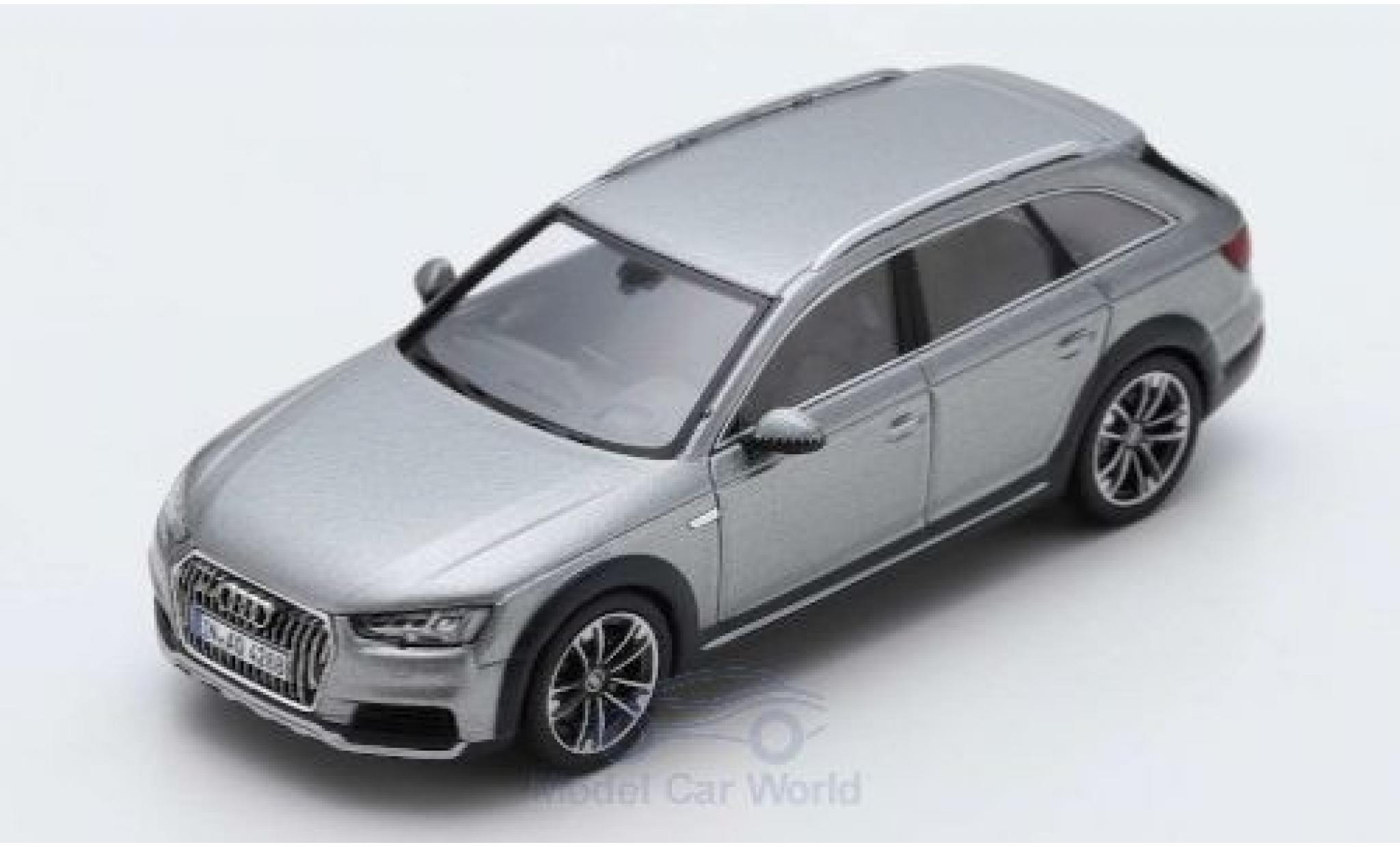 Audi A4 1/43 Spark allroad quattro grey 2016